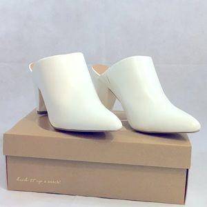 White Charlotte Russe Heels